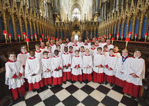 Choir Of Westminster Abbey Christmas 2020 Westminster Abbey, UK   Karen McFarlane Artists Inc.   Karen